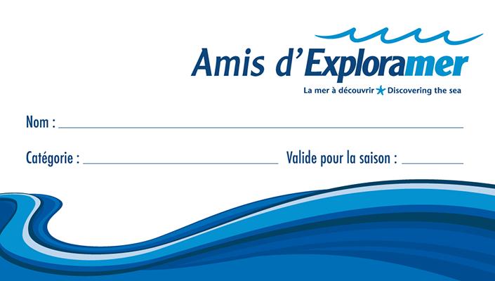 carte amis d'Exploramer